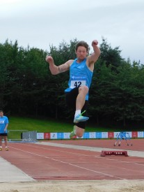 Oliver Minns Long Jump