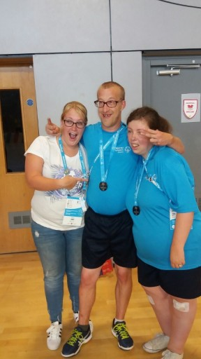 thumbnail_Cam Kath Michaela and medals!