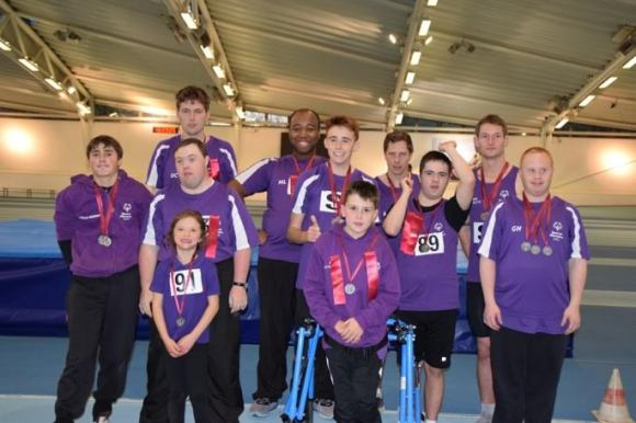 Lee Valley athletics team photo 2017