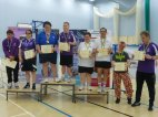 Mixed doubles medals