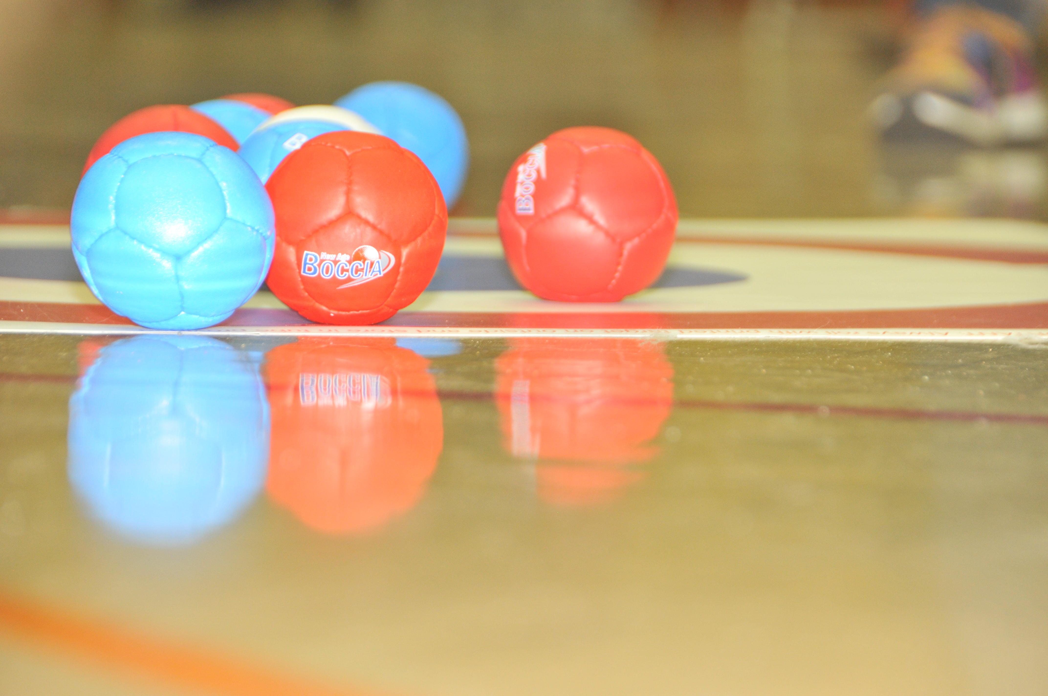 Balls on target