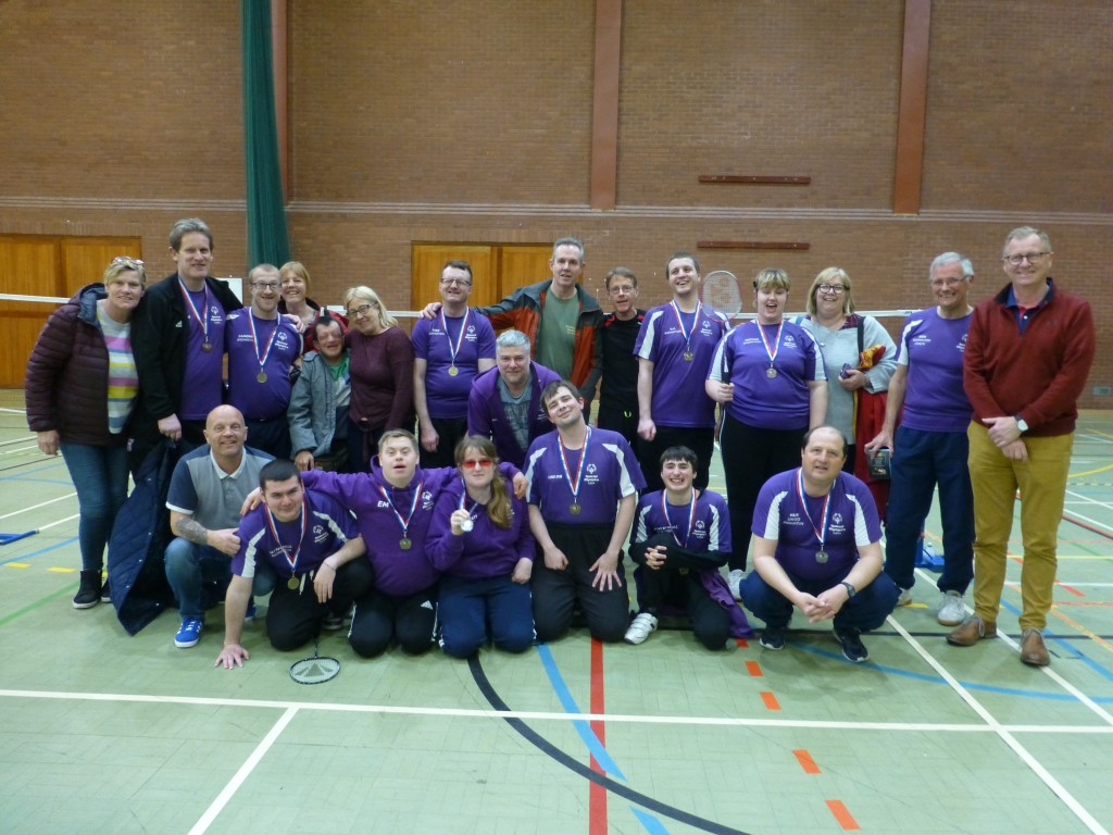 Special Olympics Suffolk badminton players enjoyed a very successful trip to the West Midlands recently when they competed in the Special Olympics Regional Tournament held in Cannock, Staffordshire.